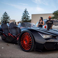 2020 Push & Start Ignition polaris-vaydor slingshot vehicle SLR SL R Motorized Tricycels