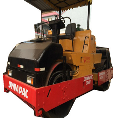 used double drum roller CC421 Dynapac for sale,Dynapac Used Hot Sale Road Roller CC421