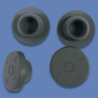 Stopper Material Rubber Stopper Factory Supplied Customized Rubber Stopper Butyl Material Antibiotic Butyl Stopper