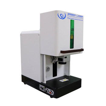 CAS JPT Raycus IPG 20W 30W 50W 60W Fiber Laser Marking Machine for Metal Watches Camera Auto Parts Buckles