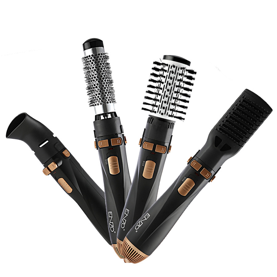 4 In 1 Automatic Rotating <strong>Comb</strong> Professional Electric Hair Brush Straightening Hair Tool Removable <strong>Comb</strong>
