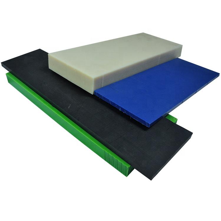 Plastique plaque PE-HD 2mm Noir 500 x 300mm HDPE