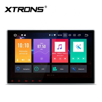 XTRONS 2 din Android 9.0 car dvd player for nissan sunny juke qashiqai with gps radio am fm