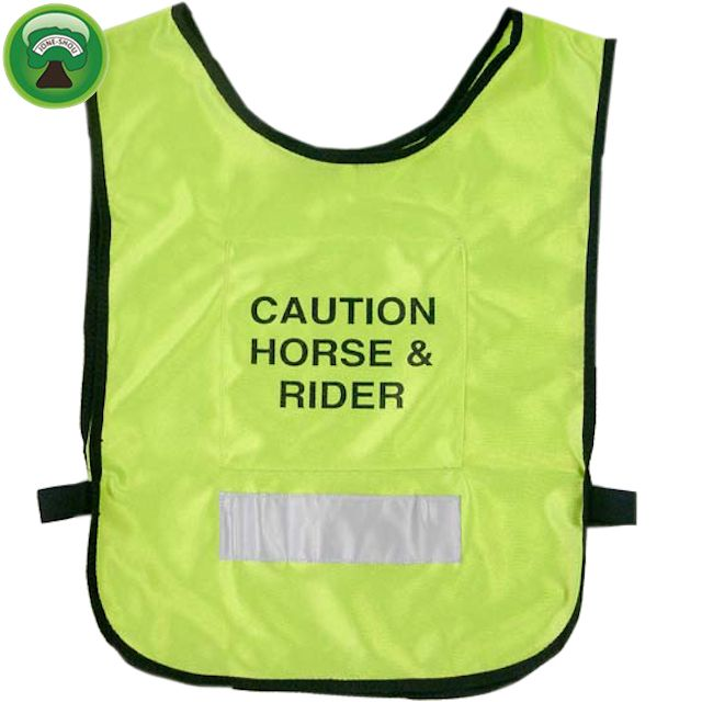 Neoprene reflective horse riding safety vests
