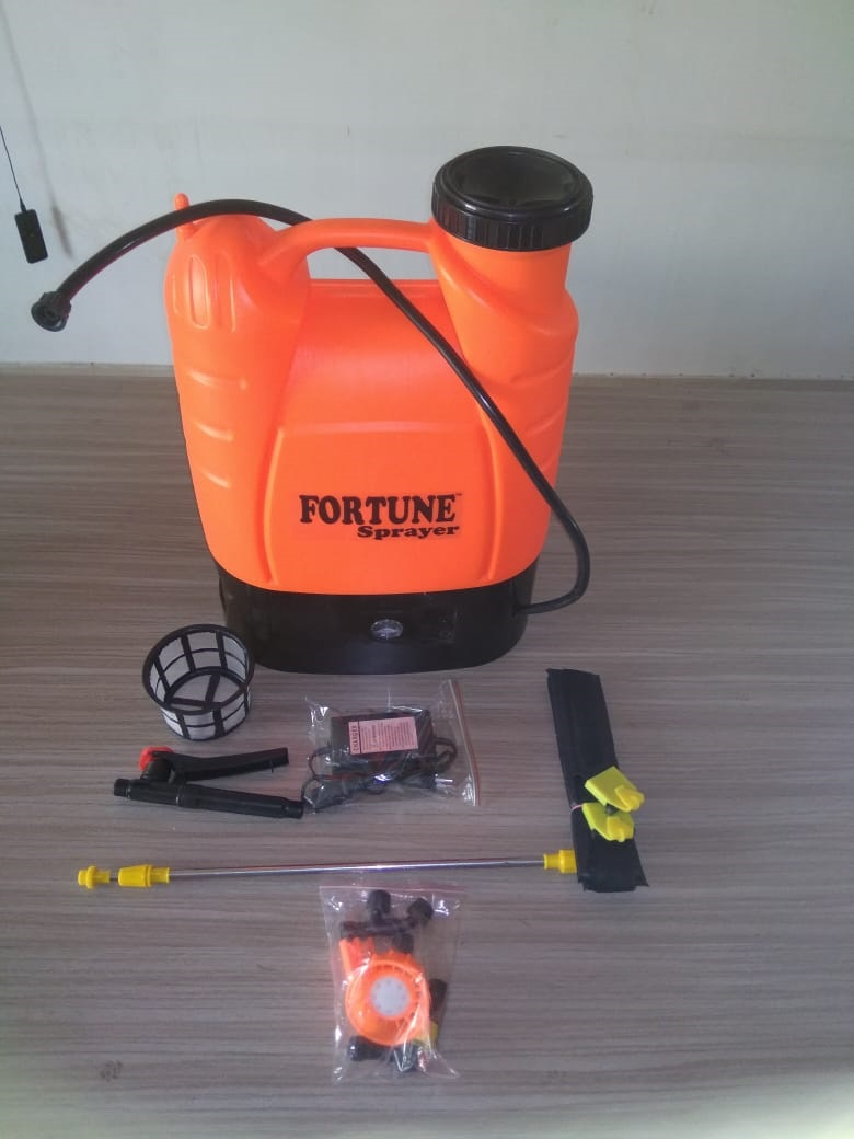 16L PE Material Blow Moulding Battery Operated Agriculture Sprayer