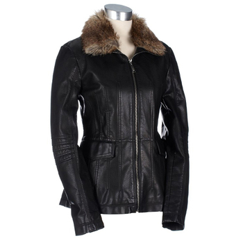 Customized Women Lambskin Leather Jacket/Fur Collar Women Casual Real Leather Jacket/High Style Sheepskin Leather Jacket