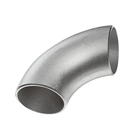 ASME B16.9 butt weld fittings 90 degree seamless elbow 304 grade bend