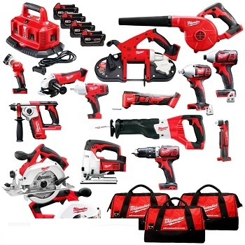 FAST-WORKING Milwaukee 2691-22 M18 Cordless 15-tool Combo Kit/Power Tool Milwaukee