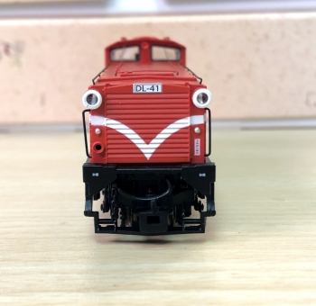 ANE MODEL Taiwan Ali-Shan Forest Railway Sixth Generation Diesel Locomotive # DL-41 MODEL TRAIN