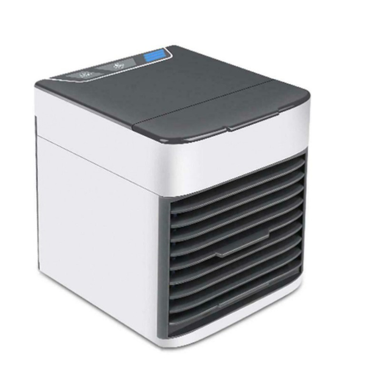 Household usb mini air cooler desktop portable air conditioning fan office small air conditioner with colorful light