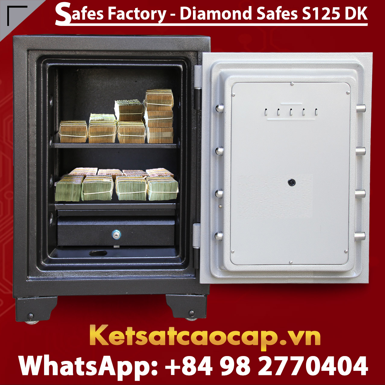 Diamond Safe KS125 DK Black