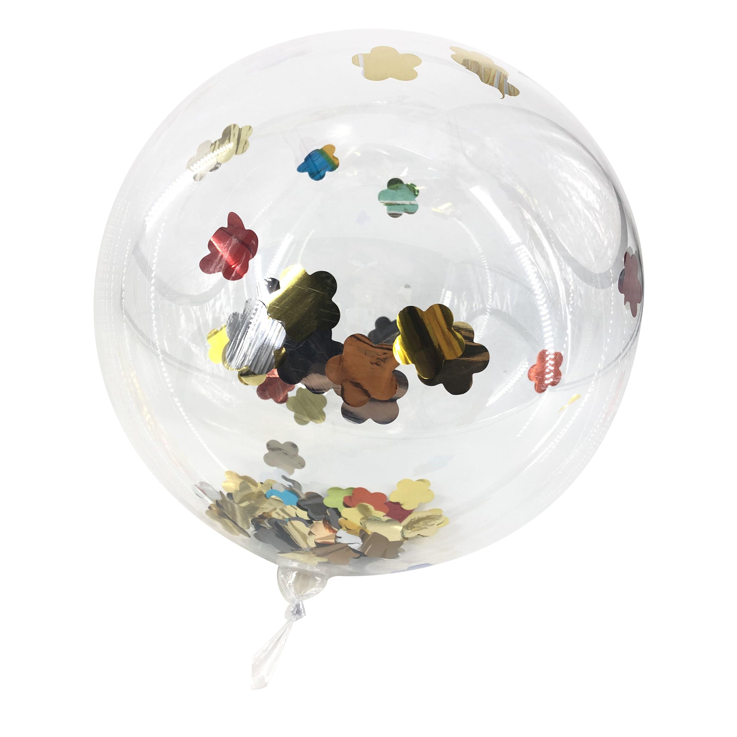Для дня рождения, для свадьбы или вечеринки торжеств украшения круглый пузырь клипсы для воздушных шаров, ПВХ прозрачный шар