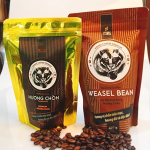 Honee Coffee - Huong Chon coffee Luwak Kopi roasted coffee beans standard and premium quality from Vietnam