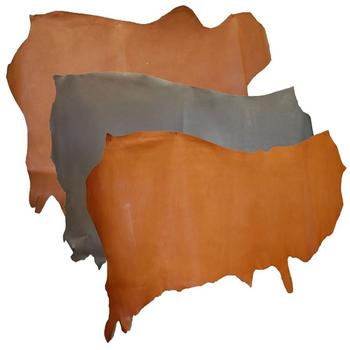 Light Brown Buffalo Hide Veg Tan Leather thick Exceptional Quality By Taidoc