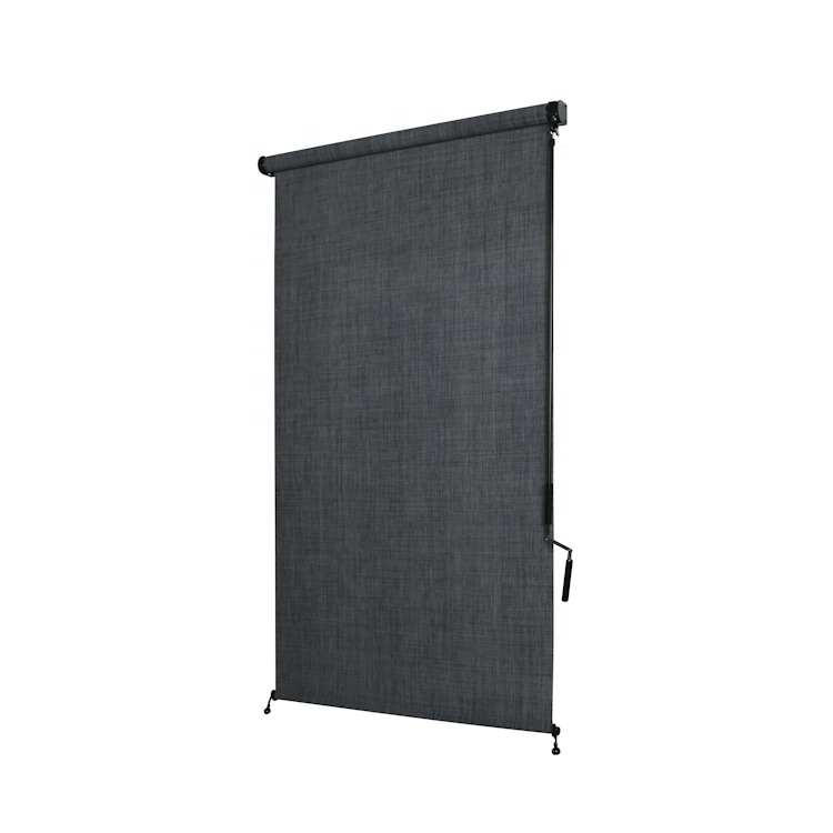 New products windproof outdoor fabric 100% polyester roller blind sunshade roller blinds
