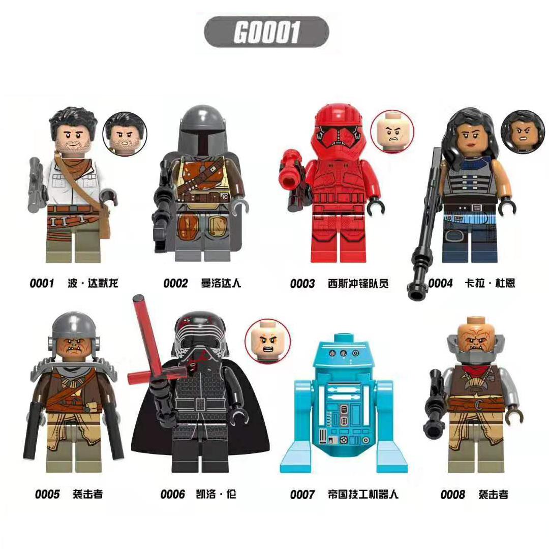 Süper kahramanlar oyuncak Mini plastik yapı eylem şekil blokları 3D DIY oyuncaklar çocuklar için Legoes tuğla oyuncaklar