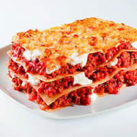 PRECOOKED WITH BECHAMEL AND MEAT SAUCE GLUTEN FREE LASAGNE