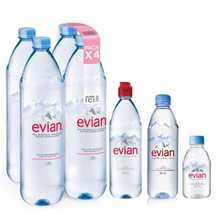 Evian maden suyu 330 ml pet şişe