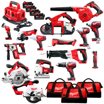 POWER TOOLS Milwaukee 2695-15 M18 18V Cordless Lithium-Ion Combo Tools Kits NEW - ORIGINAL