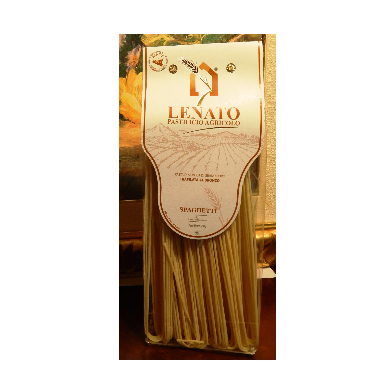Italian 100% Spaghetti Durum Wheat Pasta high quality 500gr pack