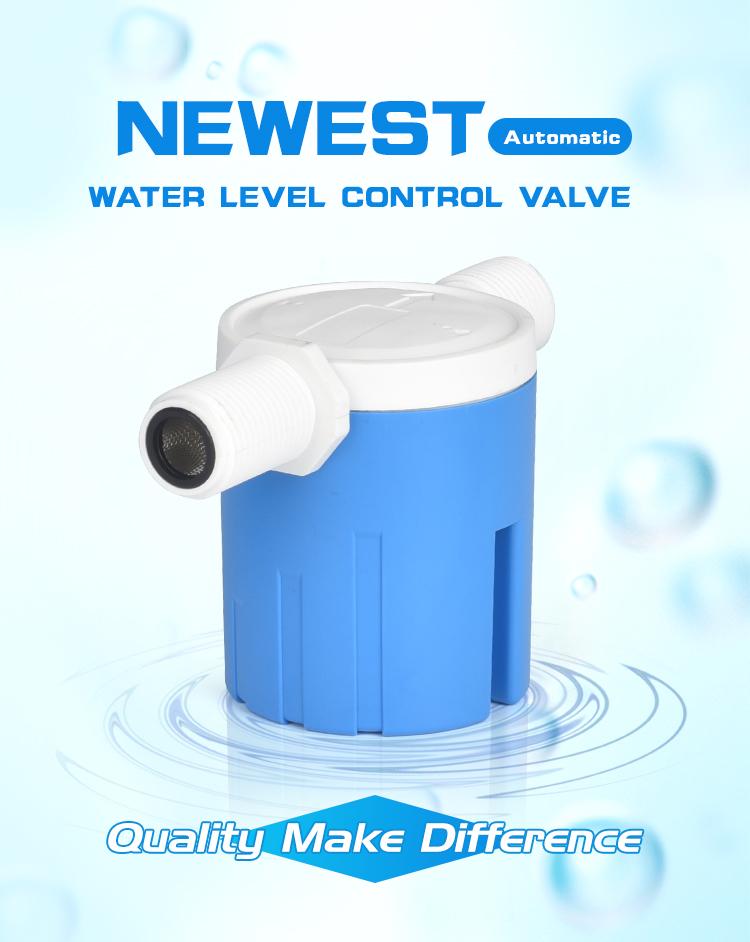MINI JUNY nouvelle conception fabrication 12 pouces petite soupape à flotteur de réservoir d'eau