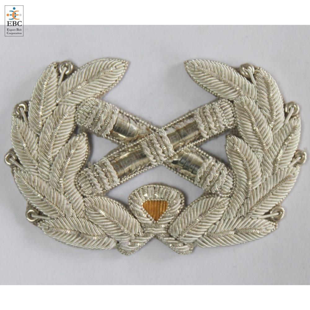 Vintage Gold Bullion Crown With Crest