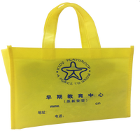 OEM Manufacture Laptop Non Woven Shopping Tote Reusable Bag
