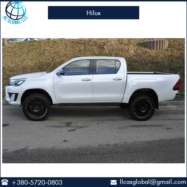 Automatic Gear Box Front Disc Brake Hilux Double Pickup Truck