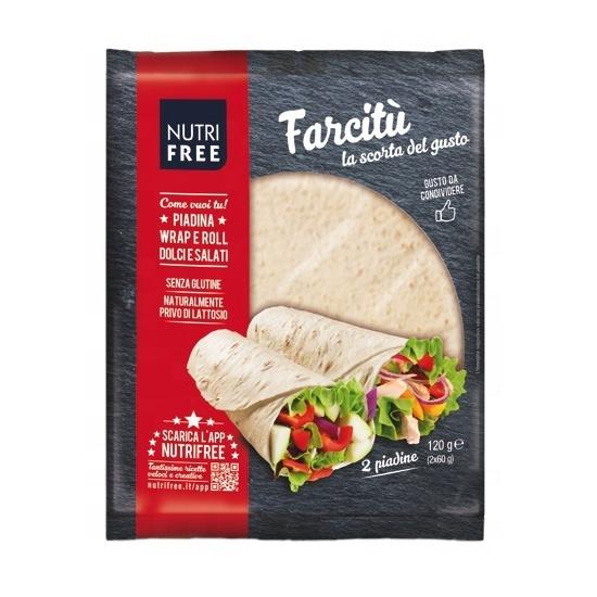 Gluten Free Wrap Bread 120 g Giuseppe Verdi Selection