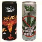 Low alcoholic beverage 8,4% alc. 0,33 can Mari&Huan, Diavoli mixed herb vitamin bulk energy drinks
