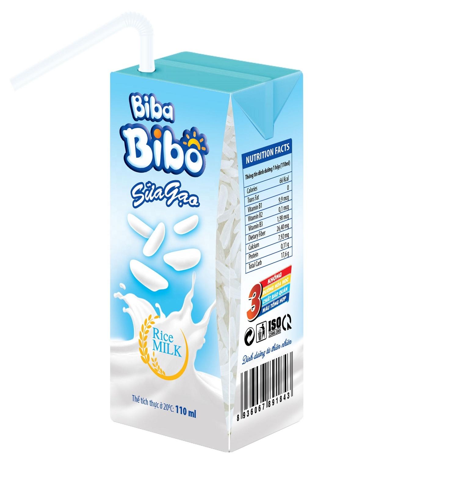 Vietnam export BIBABIBO Rice milk for Kids