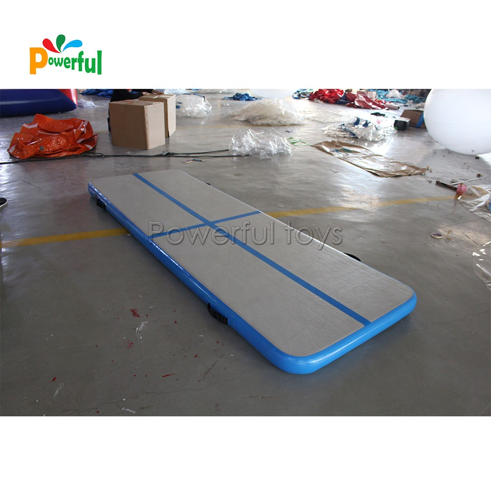 Inflatable air track tumbling mat gymnastics tumble track