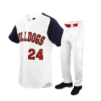 New Latest Quality manufacturing Custom Design Baseball Uniform For Sale