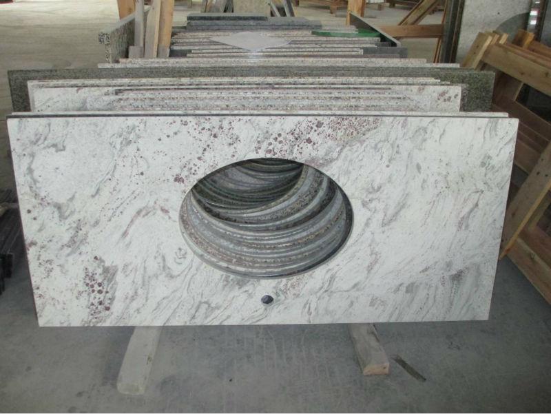pietra naturale marmo granito bagno parte superiore di vanità ...