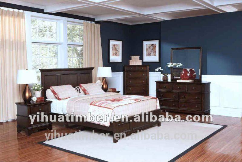 möbel schlafzimmer holz Doppelbett super günstigen preis weißen ...