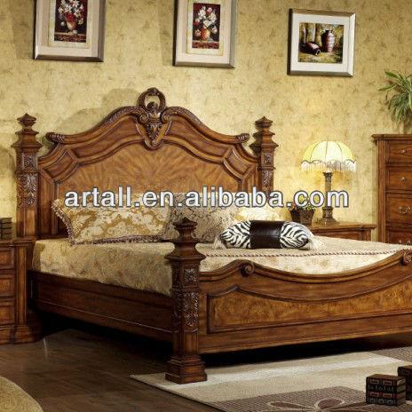 Americano classici in legno massello king size mobili camera da ...