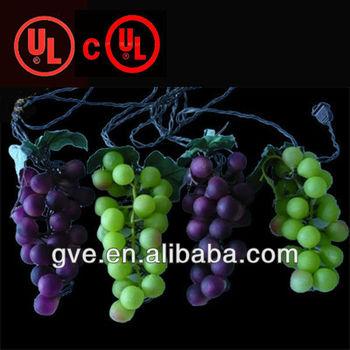 Grape String Party Lights : 100 Count Led Grape Lights - Christmas Decoration String Lights - Buy Grape Decorative String ...