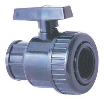 upvc einzelnes Anschluss-Kugelventil dn50 Herstellung Hersteller, Lieferanten, Exporteure, Großhändler