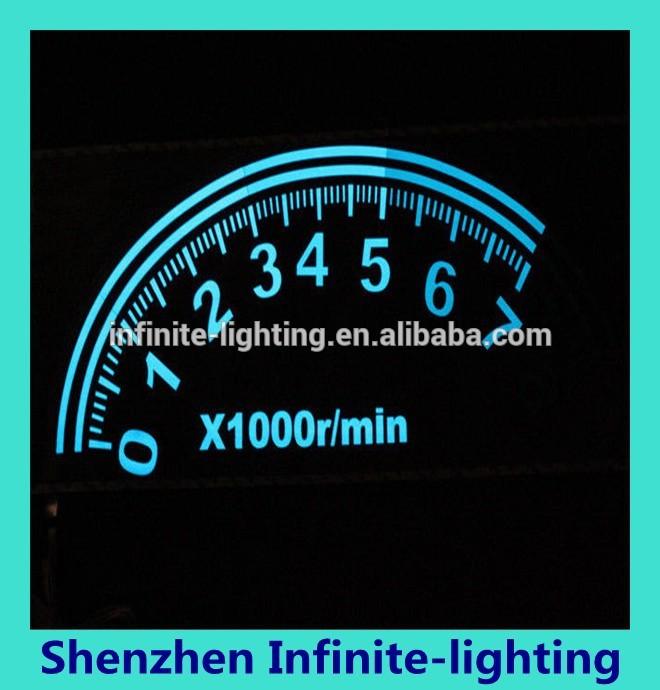80x30 alta calidad ecualizador de sonido activo coche el intermitente sticker dashboard 1 Unidades Fabricantes de fabricación, proveedores, exportadores, mayoristas