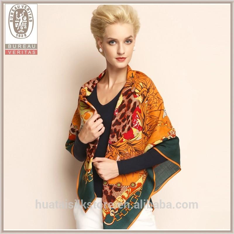 Proveedor de alta calidad de lana de cachemira pashmina mantón fulares al por mayor pura