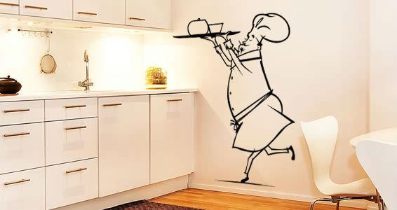Рисунок на кухне своими руками